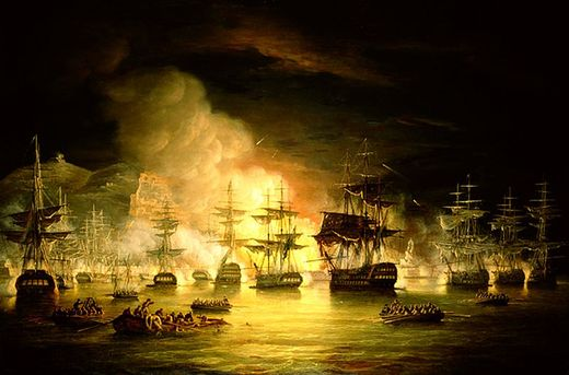 Thomas Luny, Bombardment of Algiers